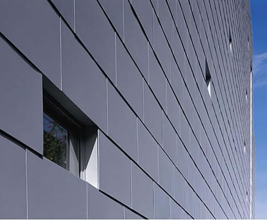 Flat Lock Cladding Tiles RHEINZINK ESI Building Design