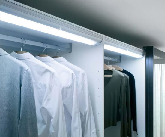 Wardrobe Sensor Light Sycamore Lighting ESI Interior