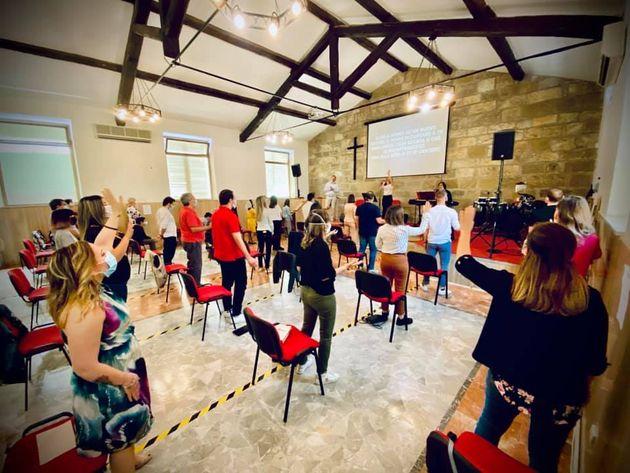 """As igrejas evangélicas na Itália reabrem com """"gratidão a Deus e desejo de retornar à normalidade"""""""