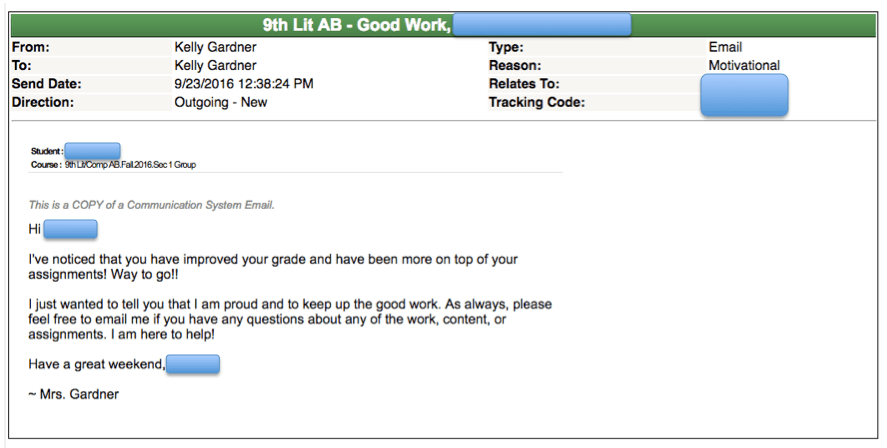 motivational example