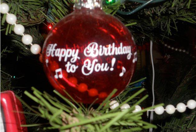 Happy Birthday On Christmas Day George Herald