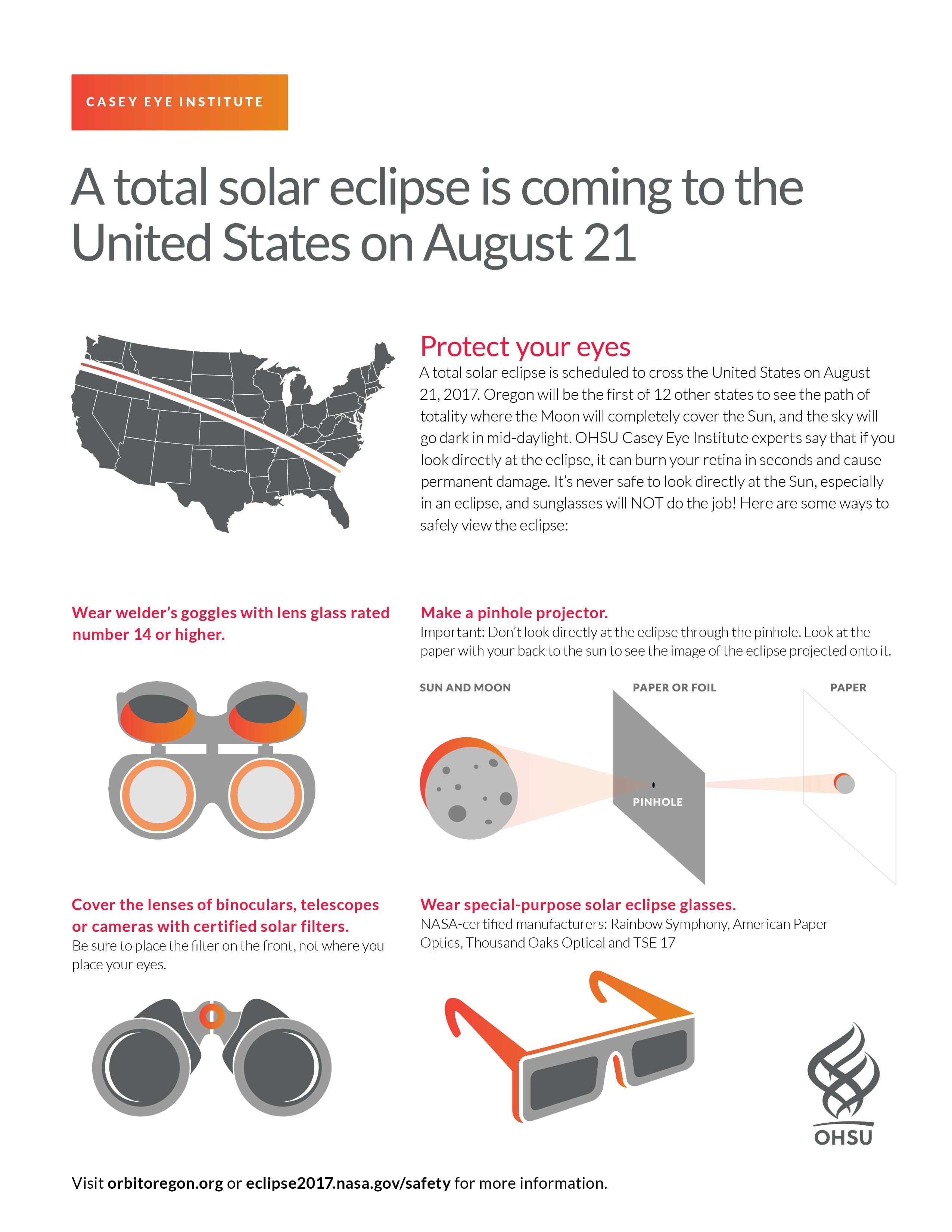 Staring At The Total Solar Eclipse This Summer Can Burn Your Retina