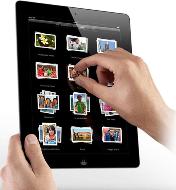 iPad 2 mano