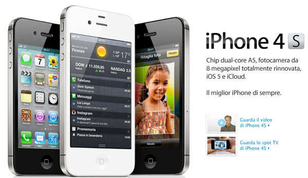 iPhone 4S home Apple