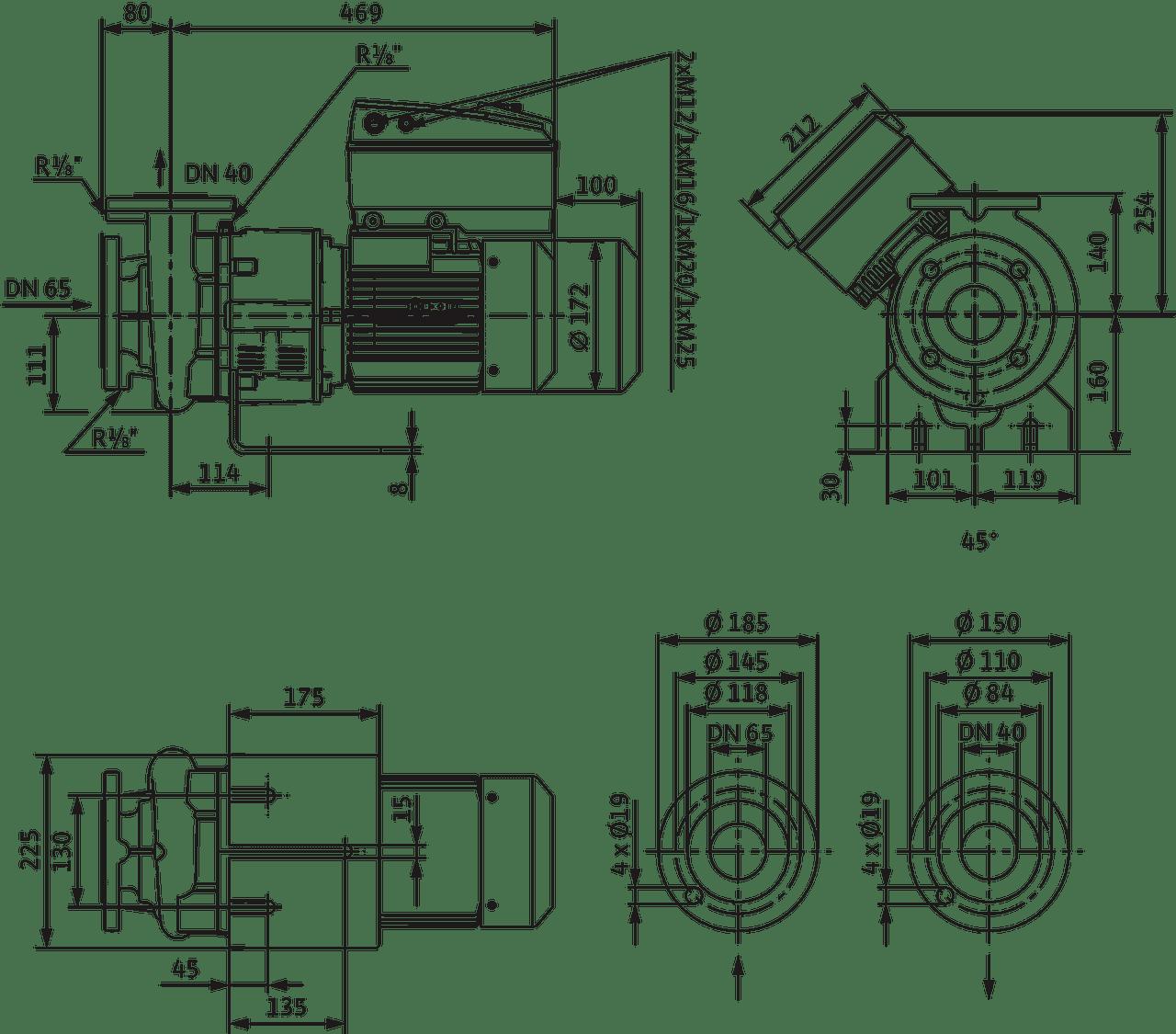 Cronobloc Bl E 40 120 2 2 2 R1