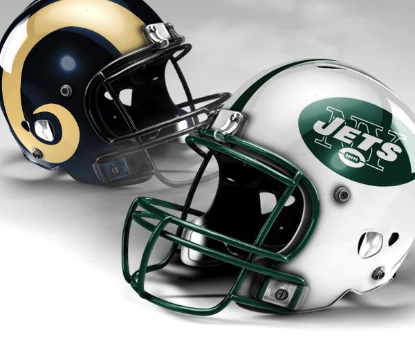 Image result for Rams vs. Jets