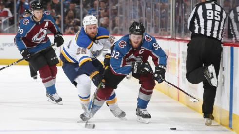 Projected Lineup: Avalanche vs. Blues
