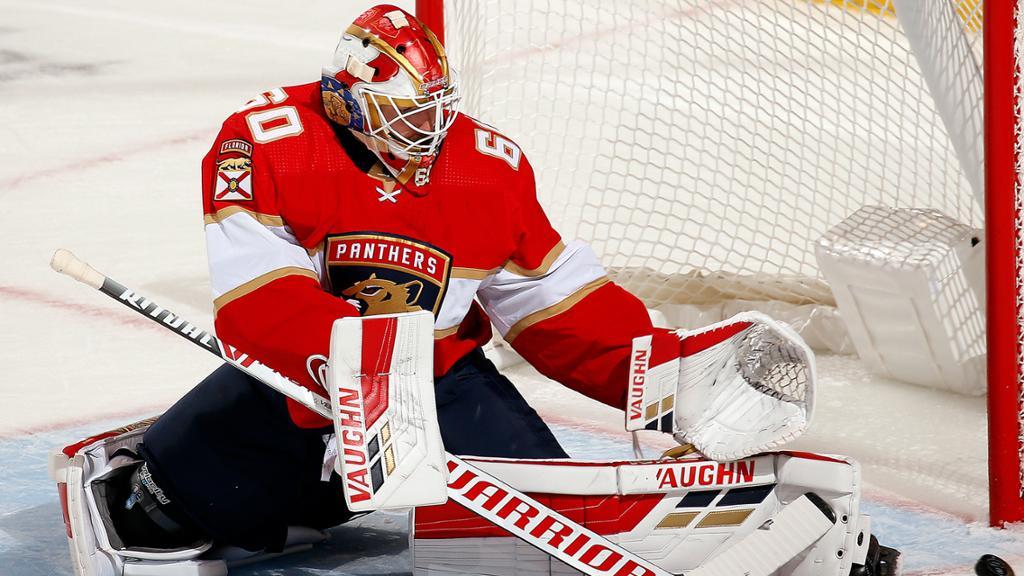 Florida Panthers Recall Goaltender Chris Driedger from Springfield (AHL)
