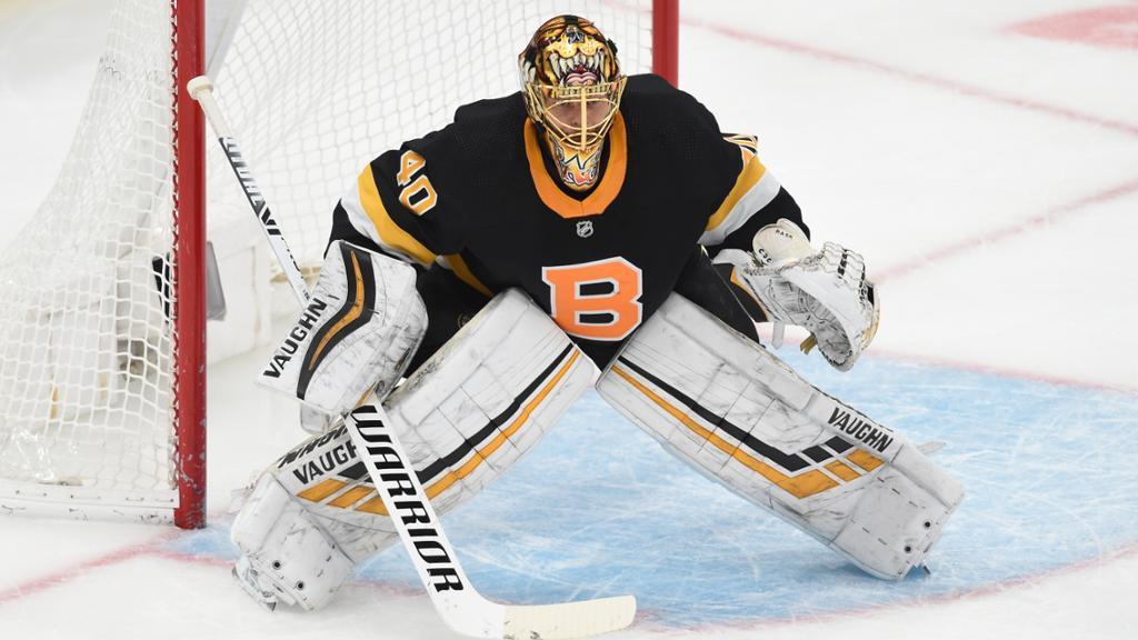 Boston Bruins goalie