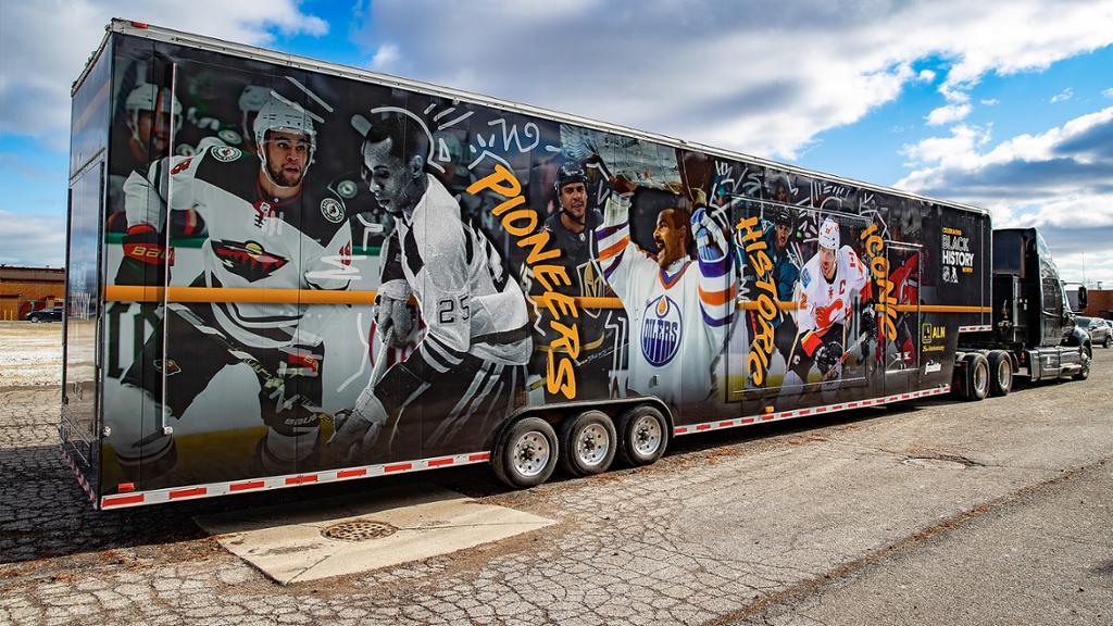NHL Black Hockey History Tour Returns