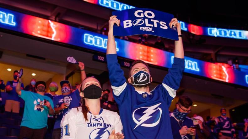 Lightning to welcome fans back to Amalie Arena