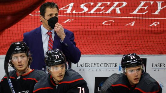 Brind'Amour happy if the hurricanes subside before the trade deadline