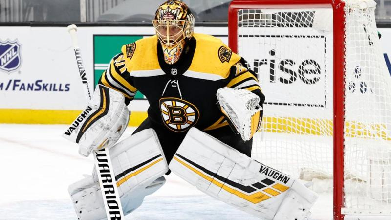 Rask out at least two games for Bruins with upper-body injury