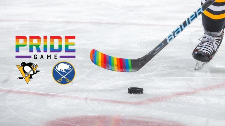 Penguins and Sabres to Co-Host Pride Game on April 17 at KeyBank Center