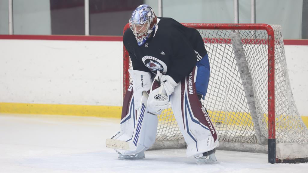 Kuemper Sets His Sights With The Avs
