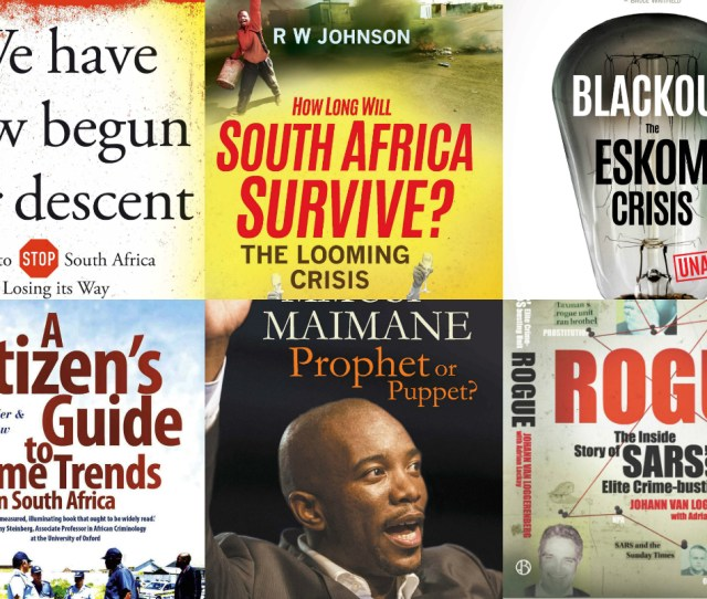 South Africas Non Fiction Book Sales Thrive On Making Sense Of Political Chaos
