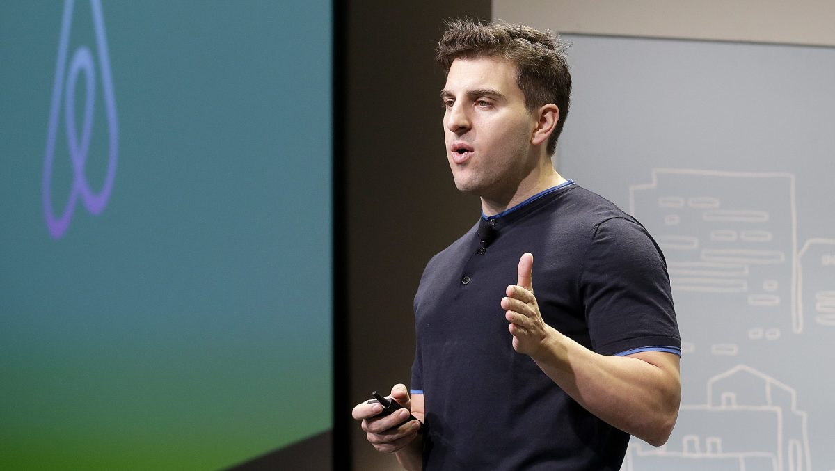 CEO Brian Chesky of Airbnb