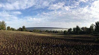 the most impressive thing apple showed off at its event was its campus