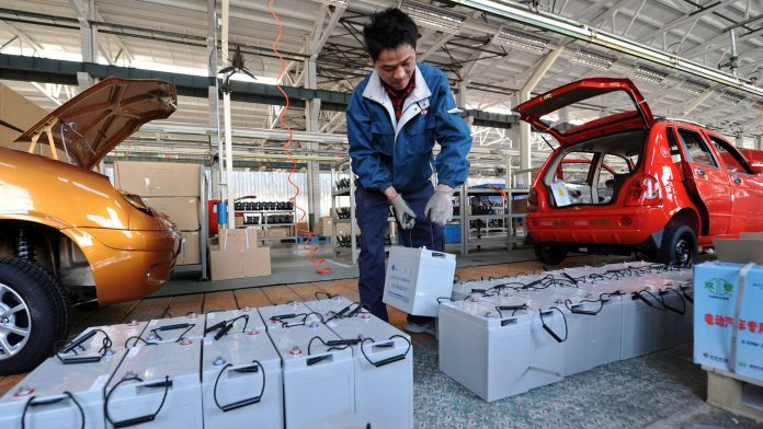 here are all the gigafactories that chinese electric vehicle battery