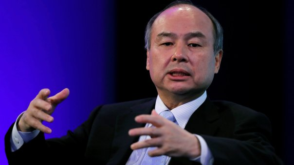 SoftBank Group Corp Chairman and CEO Masayoshi Son speaks during the Wall Street Journal CEO Conference in Tokyo, Japan May 15, 2018.