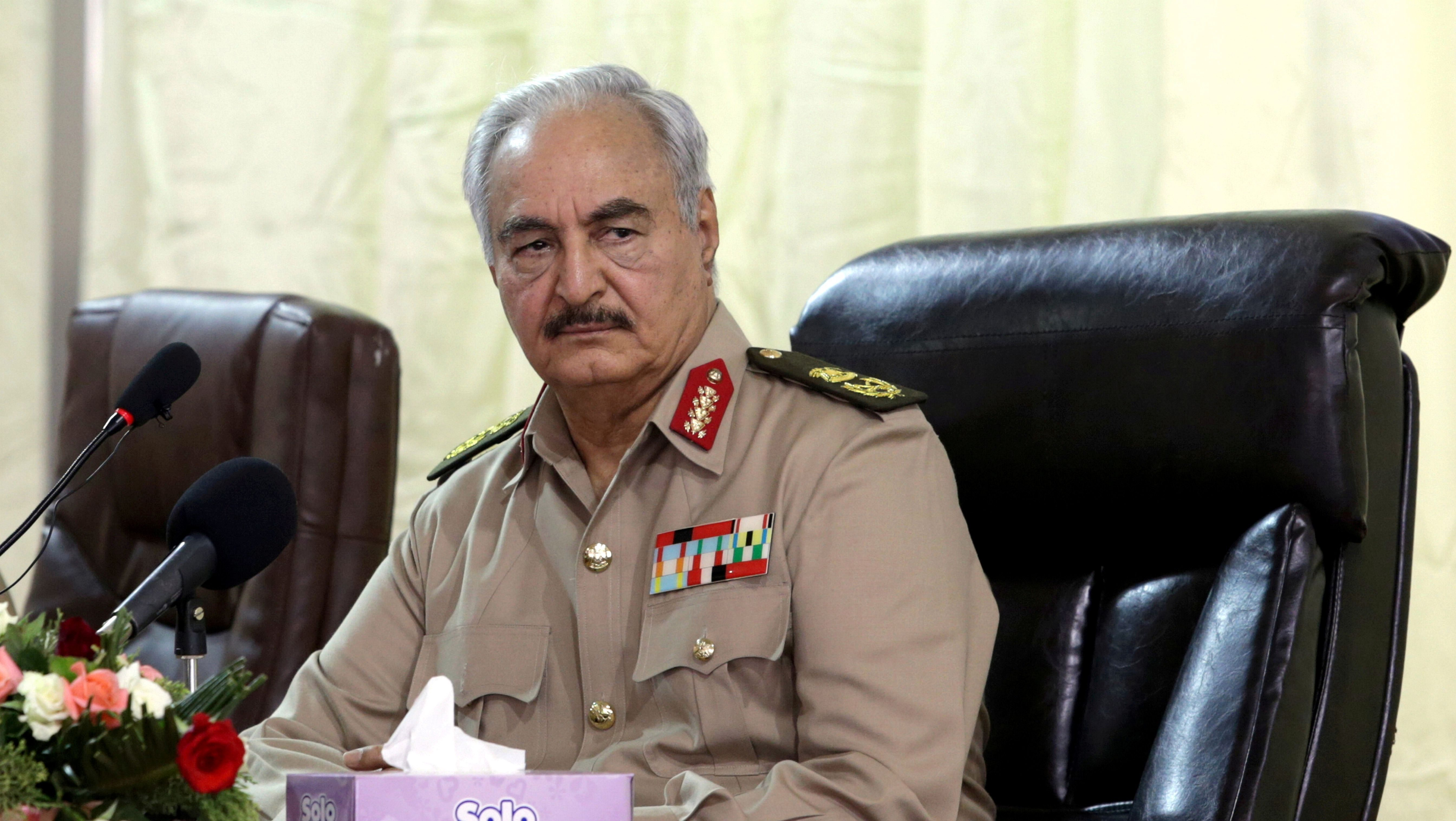 Libya's Un Backed Government Says Haftar Forces Hit Tripoli Airport