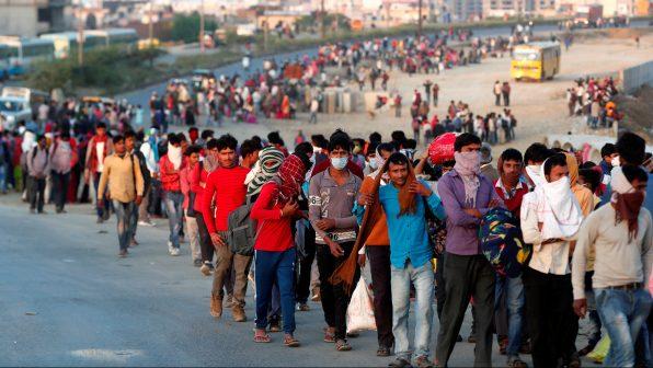 Coronavirus lockdown hits India migrant workers' pay, food supply ...