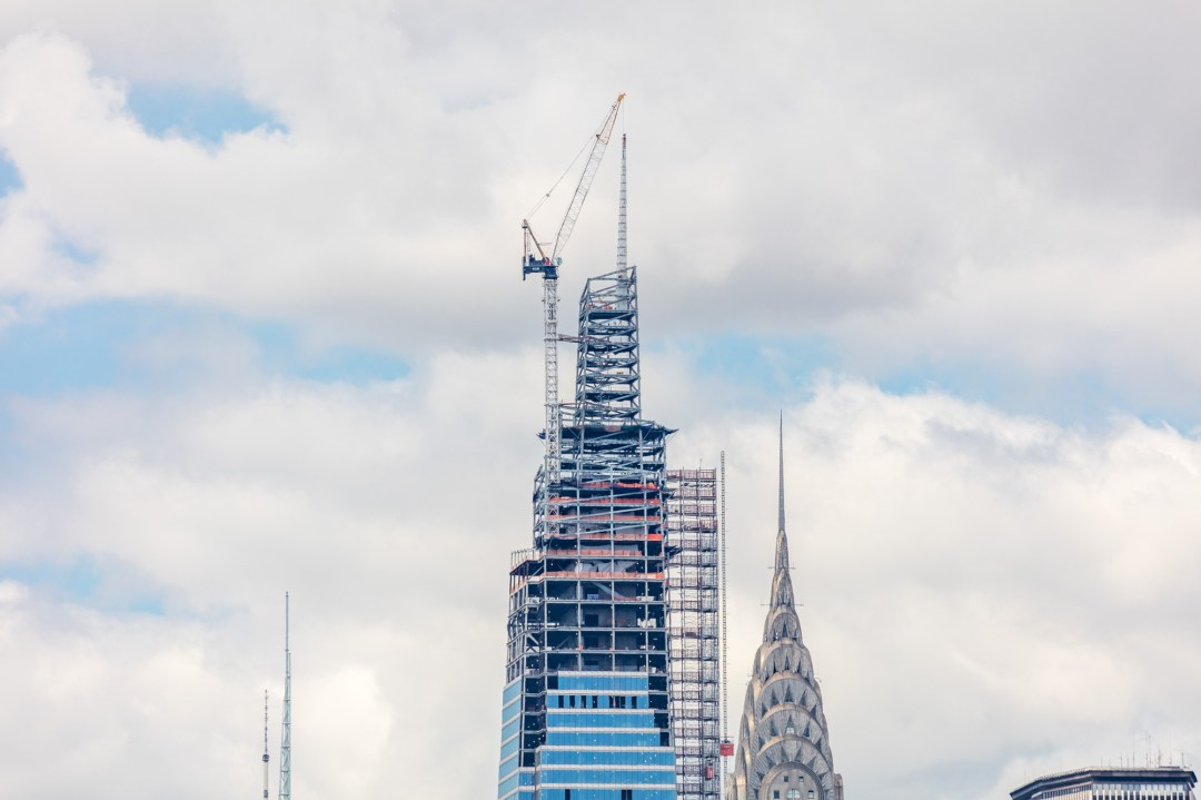 Sept. 11 led to the boom in supertall skyscrapers One Vanderbilt, the tallest office tower in midtown Manhattan tops up.