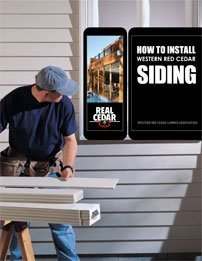 How to Install Western Red Cedar Siding
