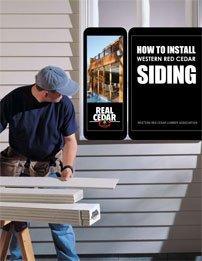 How to Install Western Red Cedar Siding