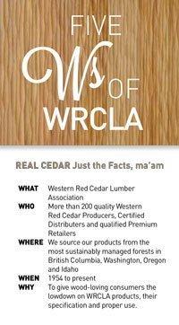 Five W's of WRCLA