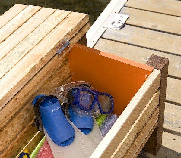 dock box storage