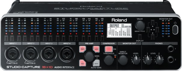 Roland STUDIO-CAPTURE featuring VS-PREAMPS