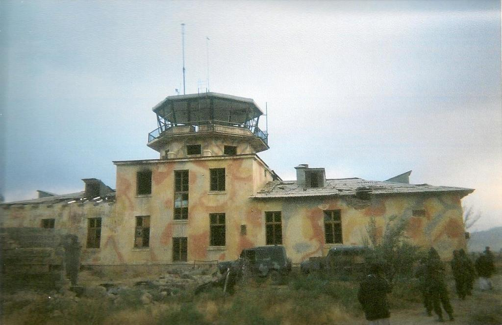 Control tower at Bagram Airfield