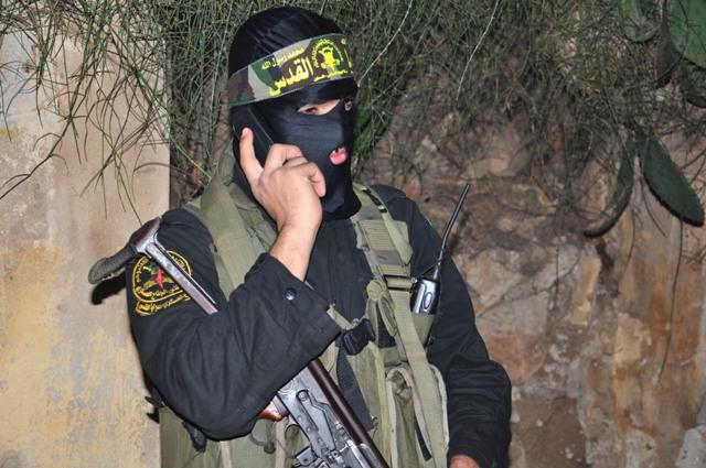 Terrorist Courier Talking on the Phone
