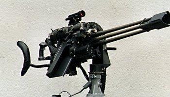 GAU-19 Gatling .50 Cal