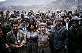 Kurdish Peshmerga Fighters in Northern Iraq