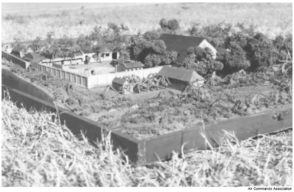 Mockup of Son Tay Prison Camp