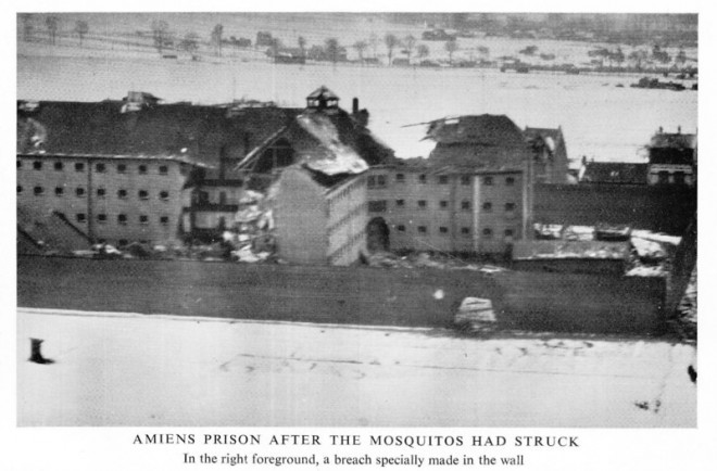 Amiens Prison After the Raid