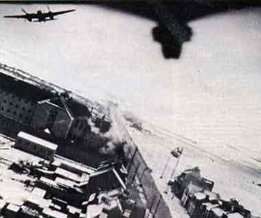 DeHavilland Mosquitos During Amiens Raid