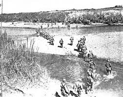 6th Battalion Rangers Enroute to Cabanatuan