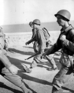 Darby leads Rangers on speed march in N. Africa 1942