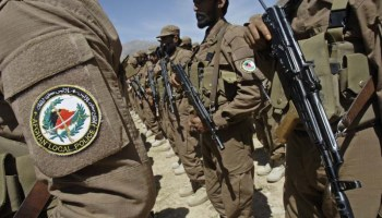 Training suspended for new Afghan Local Police recruits