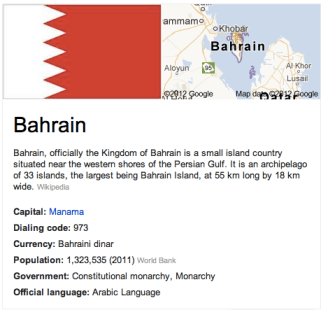 Human Trafficking & The Sex Trade in Bahrain