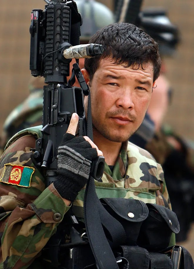 Afghan National Army Commando
