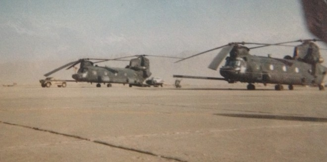 Operation Red Wings II Chinooks