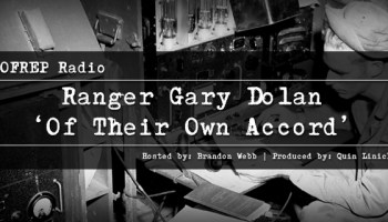 """Gary Dolan, Author of """"Of Their Own Accord"""", Army Ranger Gary Dolan"""