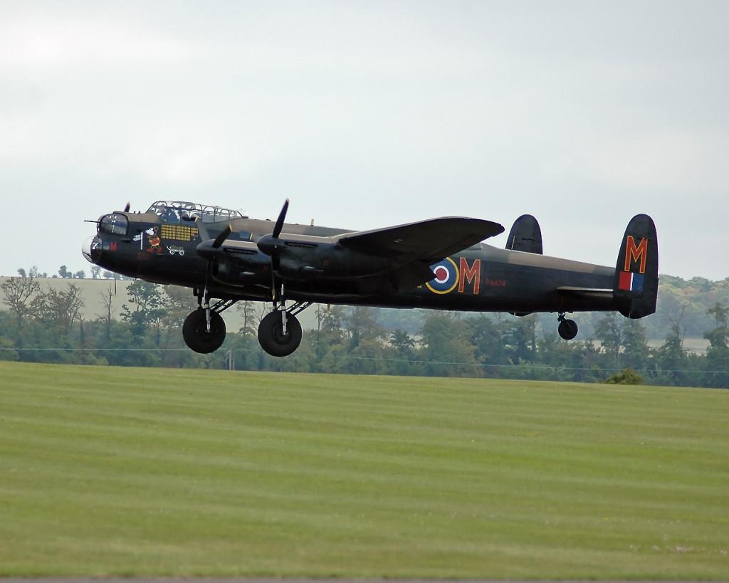 Avro Lancaster four-engine heavy bomber