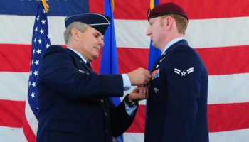 Special Tactics Airmen Awarded Silver Star, Bronze Star, and Purple Heart