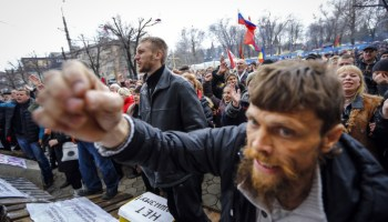 """Ukraine to UN: """"Send Peacekeepers"""""""