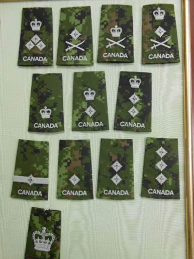 """New """"Old"""" Canadian Officers Ranks"""